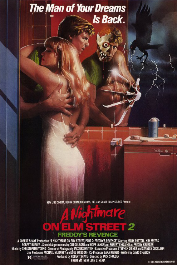 A Nightmare on Elm Street 2 Freddy's Revenge 1985 Hindi Dual Audio 300MB BluRay 480p ESubs Free Download