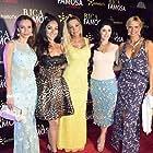 Sissi Fleitas, Sandra Vidal, Victoria del Rosal, and Luzelba Mansour in Rica Famosa Latina (2014)