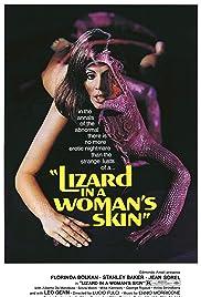 A Lizard in a Woman's Skin Poster