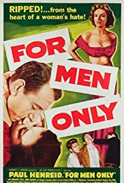 For Men Only Poster