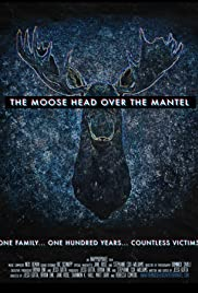 The Moose Head Over the Mantel Poster
