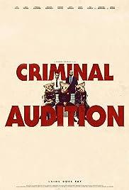 Criminal Audition Poster