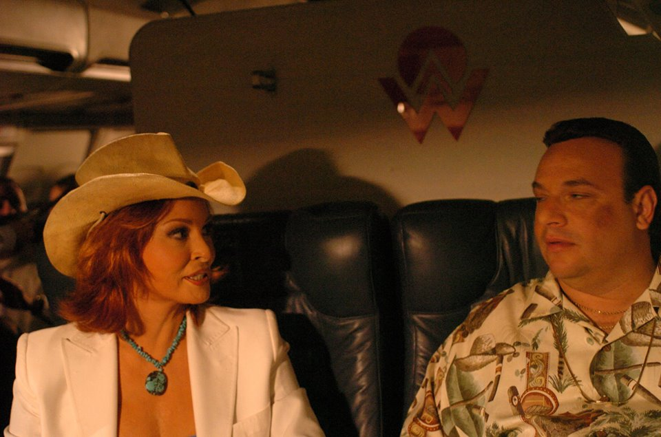 Raquel Welch and Michael Saquella in Forget About It (2006)