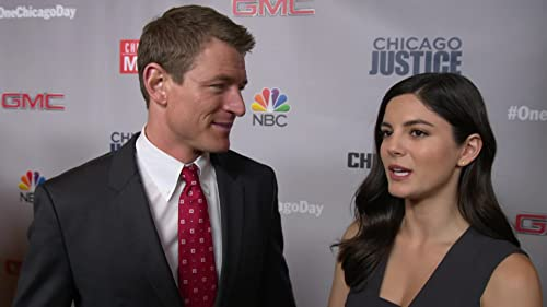 Chicago Justice: One Chicago Day: Philip Winchester And Monica Barbaro