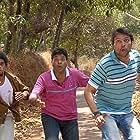 Ankush Chaudhari, Bharat Jadhav, and Siddarth Jadhav in Uladhaal (2008)