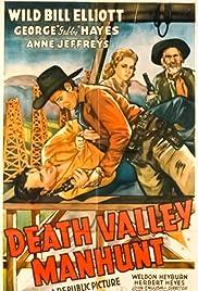 Death Valley Manhunt Poster