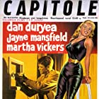Dan Duryea and Jayne Mansfield in The Burglar (1957)
