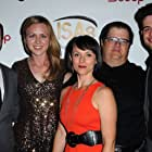 Peyton Skelton, Jeffrey Christopher Todd, Matt Dahan, Kerry Nash, and Mary Bonney at an event for Break: The Musical (2016)