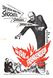 The Evil of Frankenstein (1964) Poster - Movie Forum, Cast, Reviews