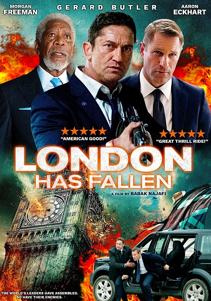 London Has Fallen 2016 Hindi Dubbed 720p BluRay 900MB Download