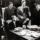 Eduardo Ciannelli, Elisha Cook Jr., Marc Lawrence, Edmund Lowe, and Lawrence Tierney in Dillinger (1945)
