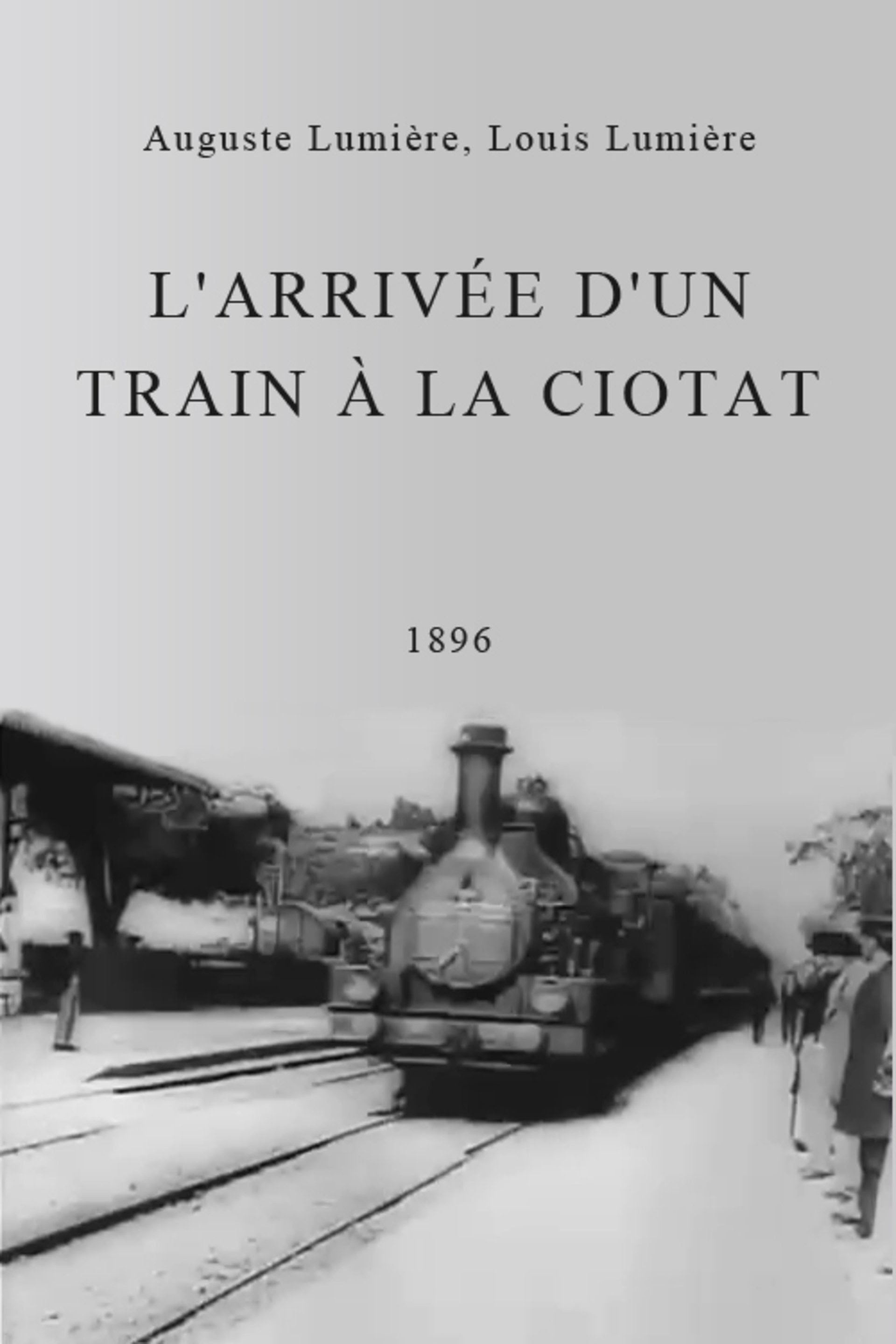The Arrival of a Train (1896) - IMDb