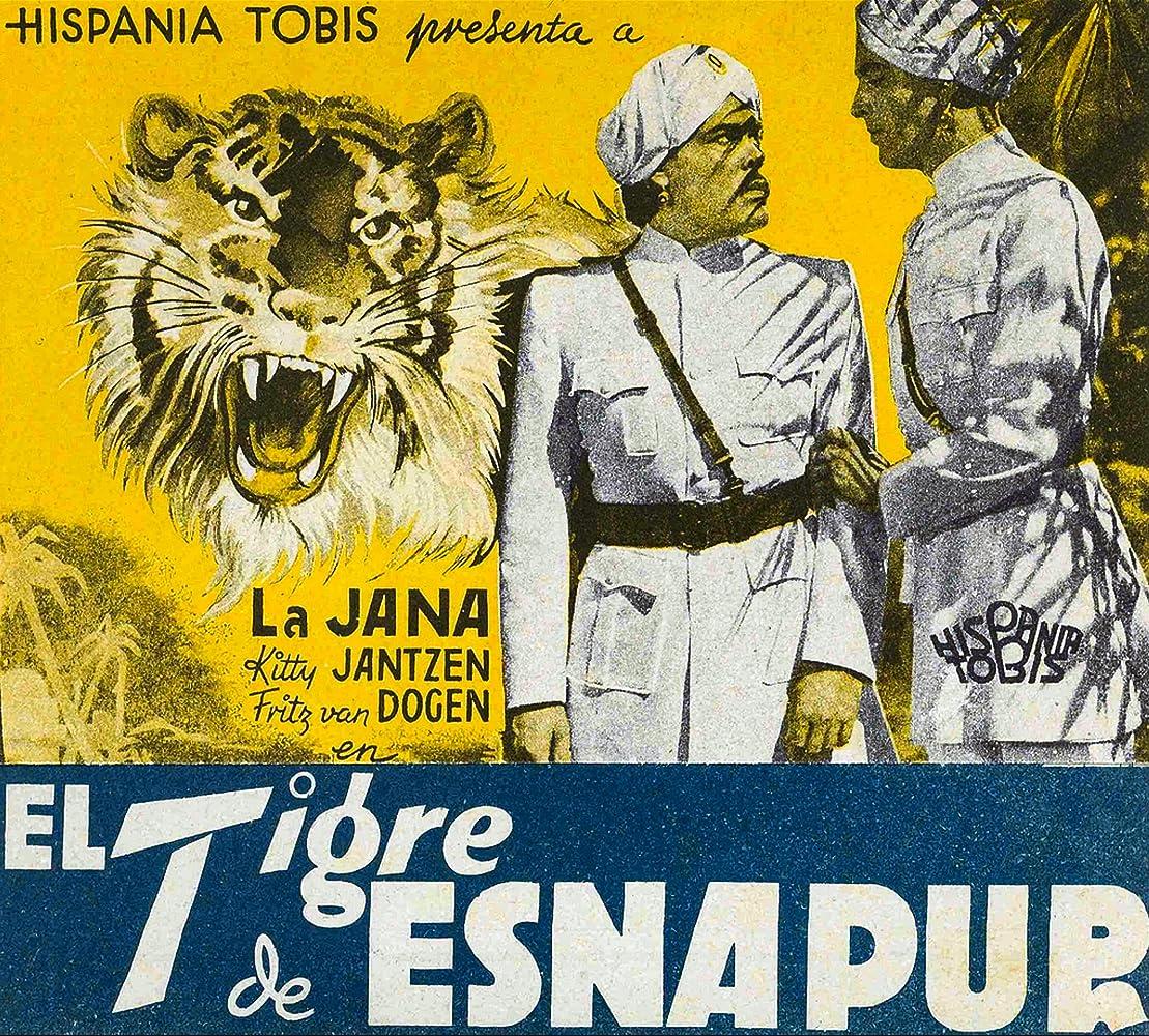 Der Tiger von Eschnapur (1938)
