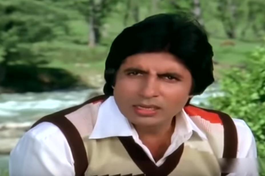 Amitabh Bachchan in Bemisal (1982)