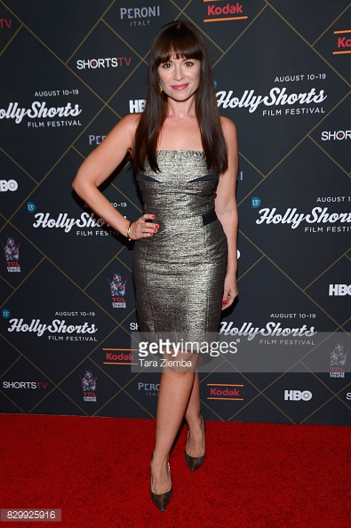 Actress Angela Cohen attends Hollyshorts Film Festival Opening Night for the US Premiere of Without Grace