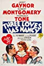 Three Loves Has Nancy (1938) Poster