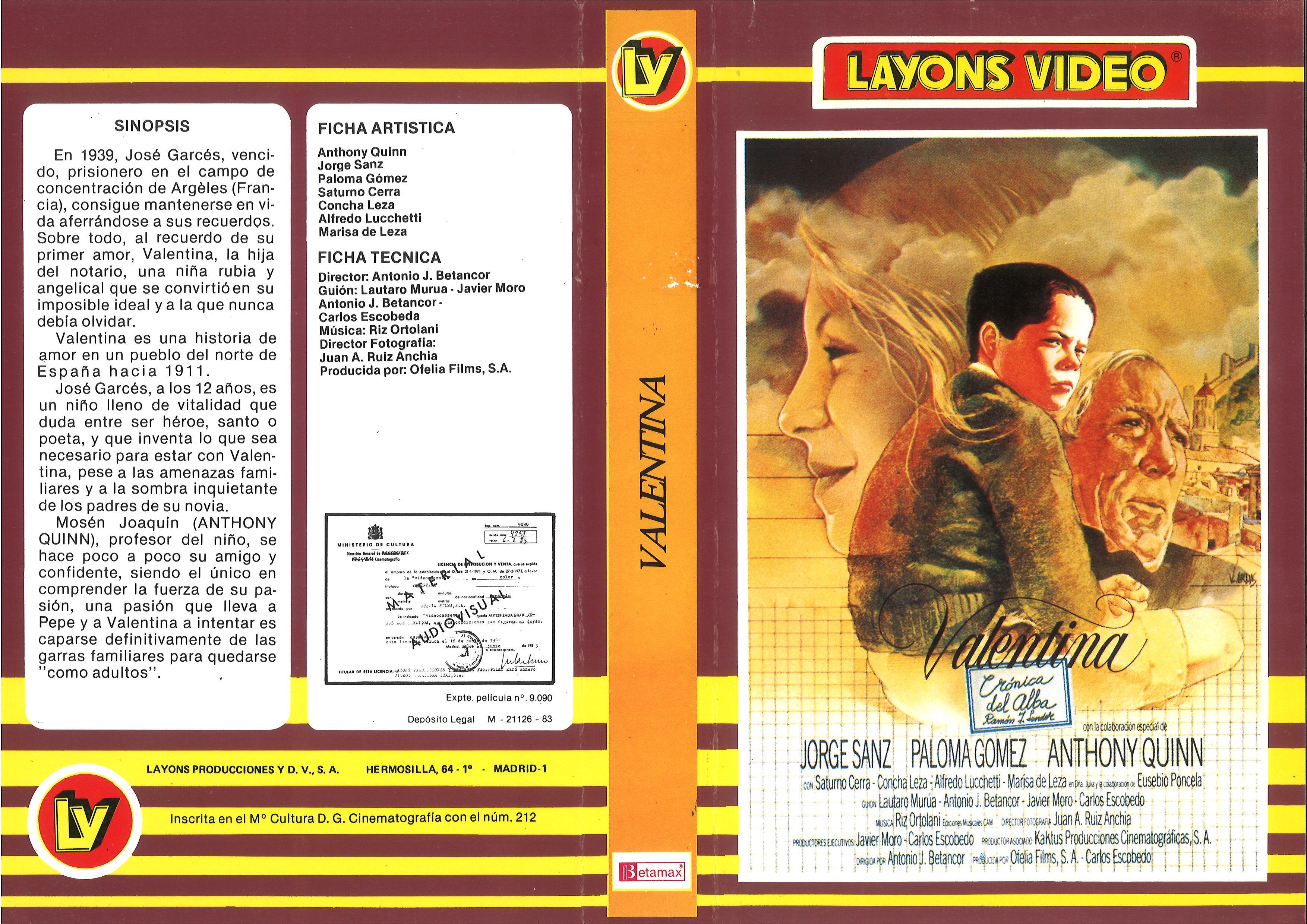 Valentina (1982)