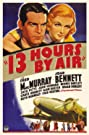 13 Hours by Air (1936) Poster