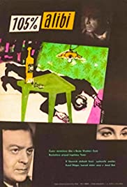 A 105 p.c. Alibi Poster