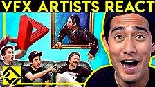 Los artistas de efectos visuales reaccionan a la magia CGi (ft. Zach King)
