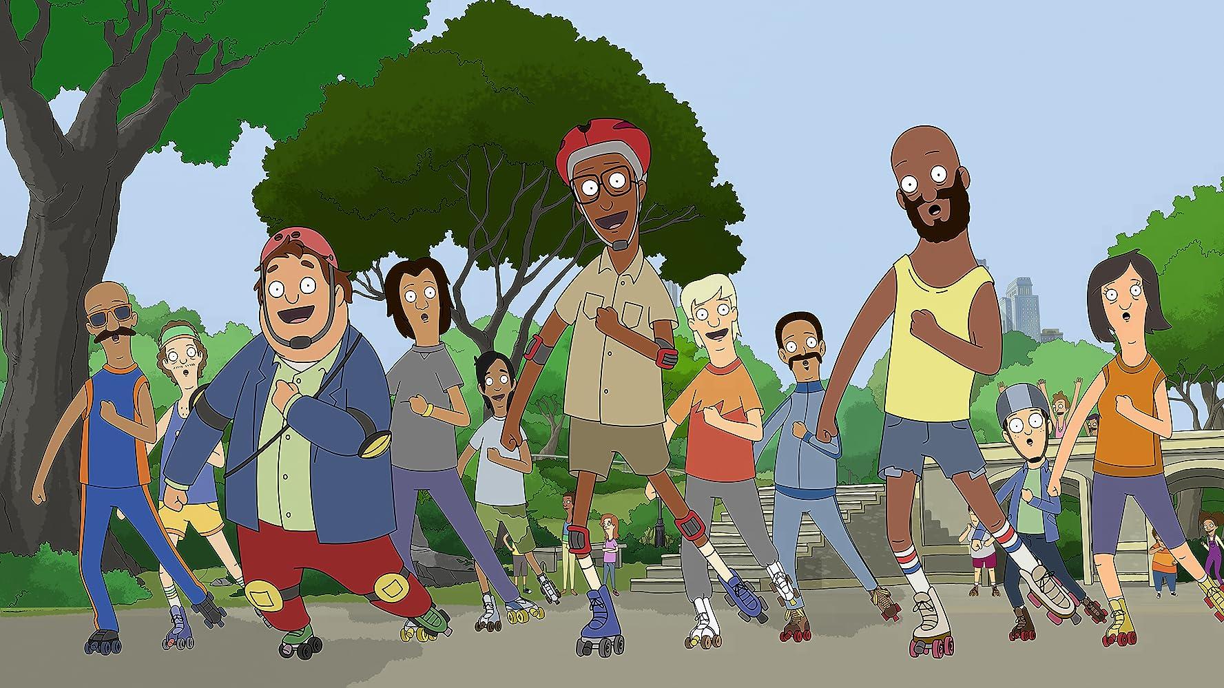 Josh Gad, Leslie Odom Jr., and Chris Jackson in Skater's Circle (2020)