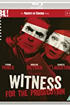 Witness for the Prosecution (1957) Poster