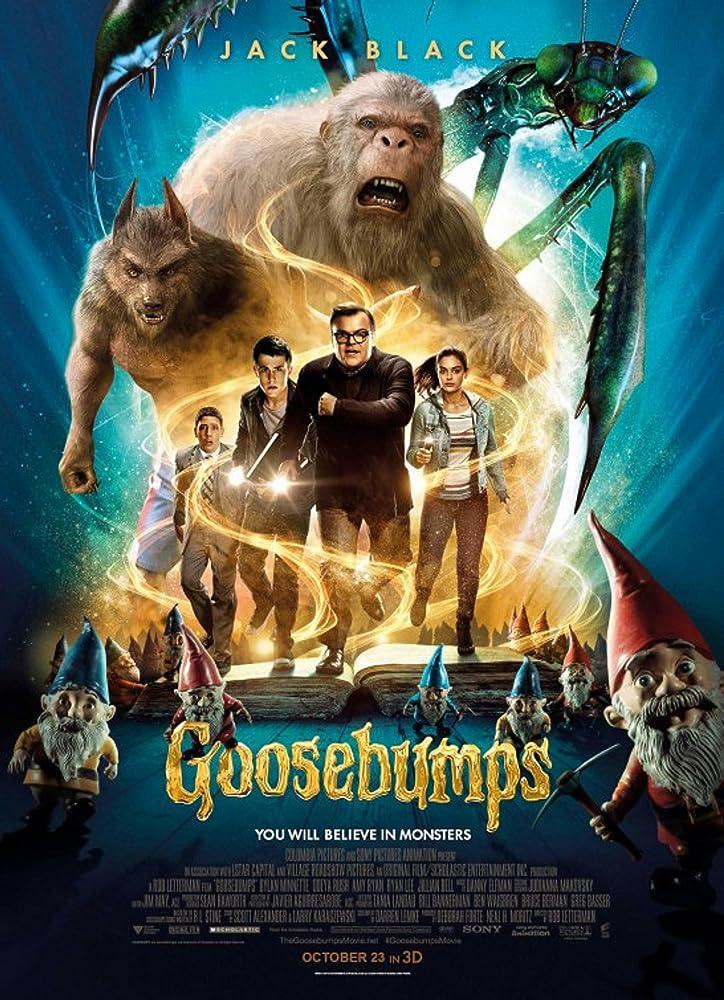 Goosebumps (2015) Hindi Dubbed