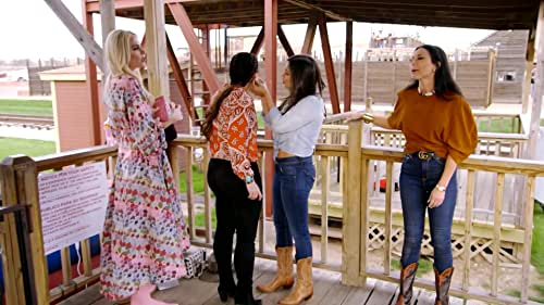 The Real Housewives Of Dallas Ride A Mechanical Bull
