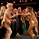 Ariana Grande and Frankie Grande at an event for American Music Awards 2014 (2014)