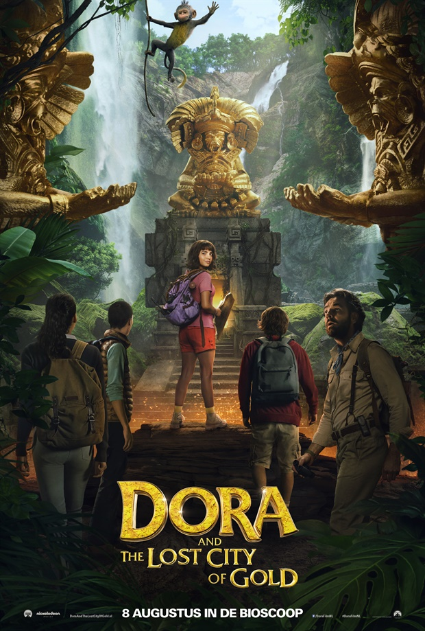 Poster film Dora and The Lost City of Gold.