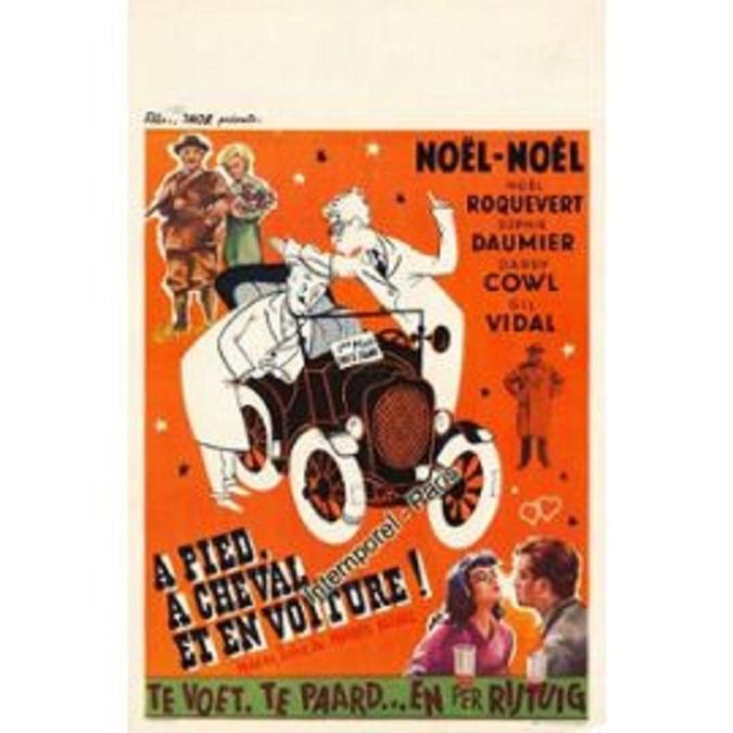 À pied, à cheval et en voiture (1957)