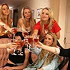 Cassidy Gifford, Sierra McCormick, Mary Kate Malat, Katie Sarife, Megan Easton, Callaghan Belle, Allie Marshall, and Jade Kedrick in Dark Pledge (2016)