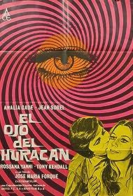 Analía Gadé and Jean Sorel in El ojo del huracán (1971)