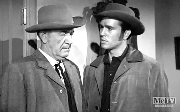 Don Durant and Addison Richards in Trackdown (1957)