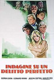 Indagine su un delitto perfetto(1978) Poster - Movie Forum, Cast, Reviews