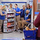 Danny Gura, Mariana Tosca, Irene White, Colton Dunn, Kelly Schumann, Lauren Ash, and Nico Santos in Superstore (2015)