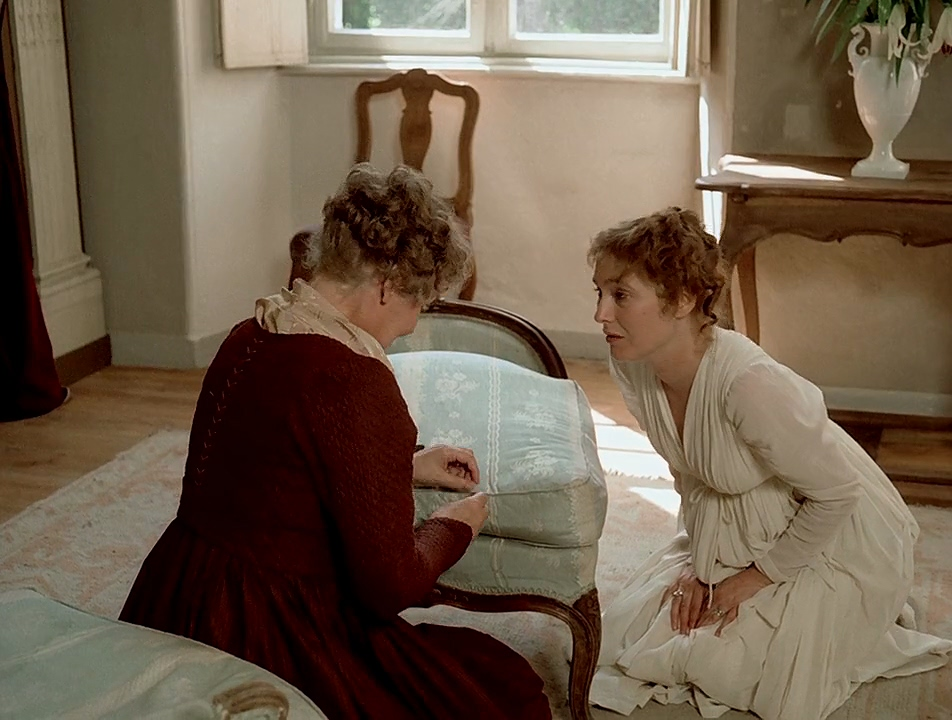 Edith Clever and Edda Seippel in Die Marquise von O... (1976)