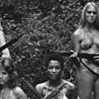 Laurie Rose, Andrea Cagan, Margaret Markov, and Rickey Richardson in The Hot Box (1972)