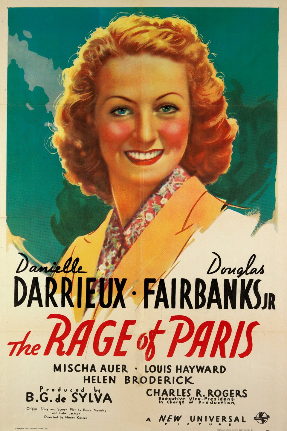 Danielle Darrieux in The Rage of Paris (1938)