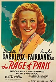 The Rage of Paris Poster