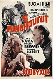 Punahousut Poster