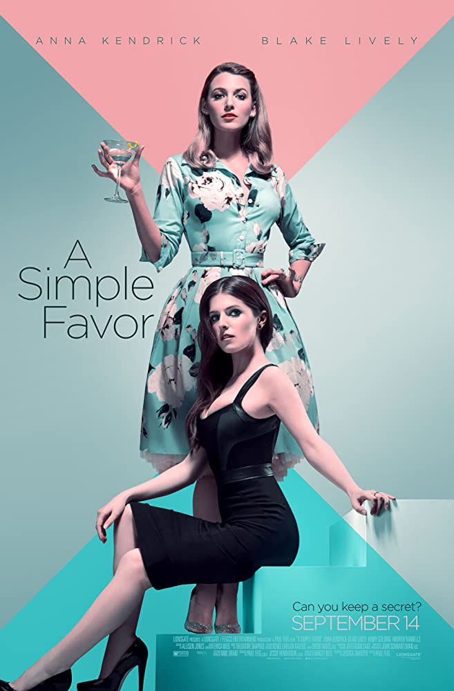 18+ A Simple Favor 2018 English 350MB BluRay Download