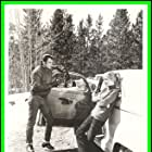 George Hamilton and Sue Lyon in Evel Knievel (1971)