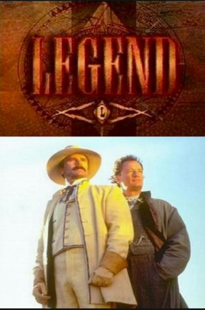 Richard Dean Anderson and John de Lancie in Legend (1995)