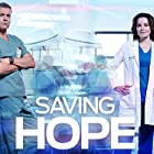 Michael Shanks and Erica Durance in Saving Hope (2012)