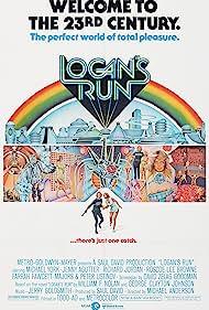 Jenny Agutter, Farrah Fawcett, Michael York, Roscoe Lee Browne, and Richard Jordan in Logan's Run (1976)