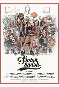 Terry Crews, Dave Meyers, Molly Shannon, Katy Perry, Nicki Minaj, Gaten Matarazzo, and Scott Cunningham in Katy Perry Feat. Nicki Minaj: Swish Swish (2017)