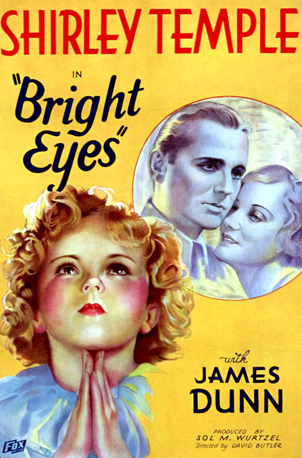 Shirley Temple, James Dunn, and Judith Allen in Bright Eyes (1934)