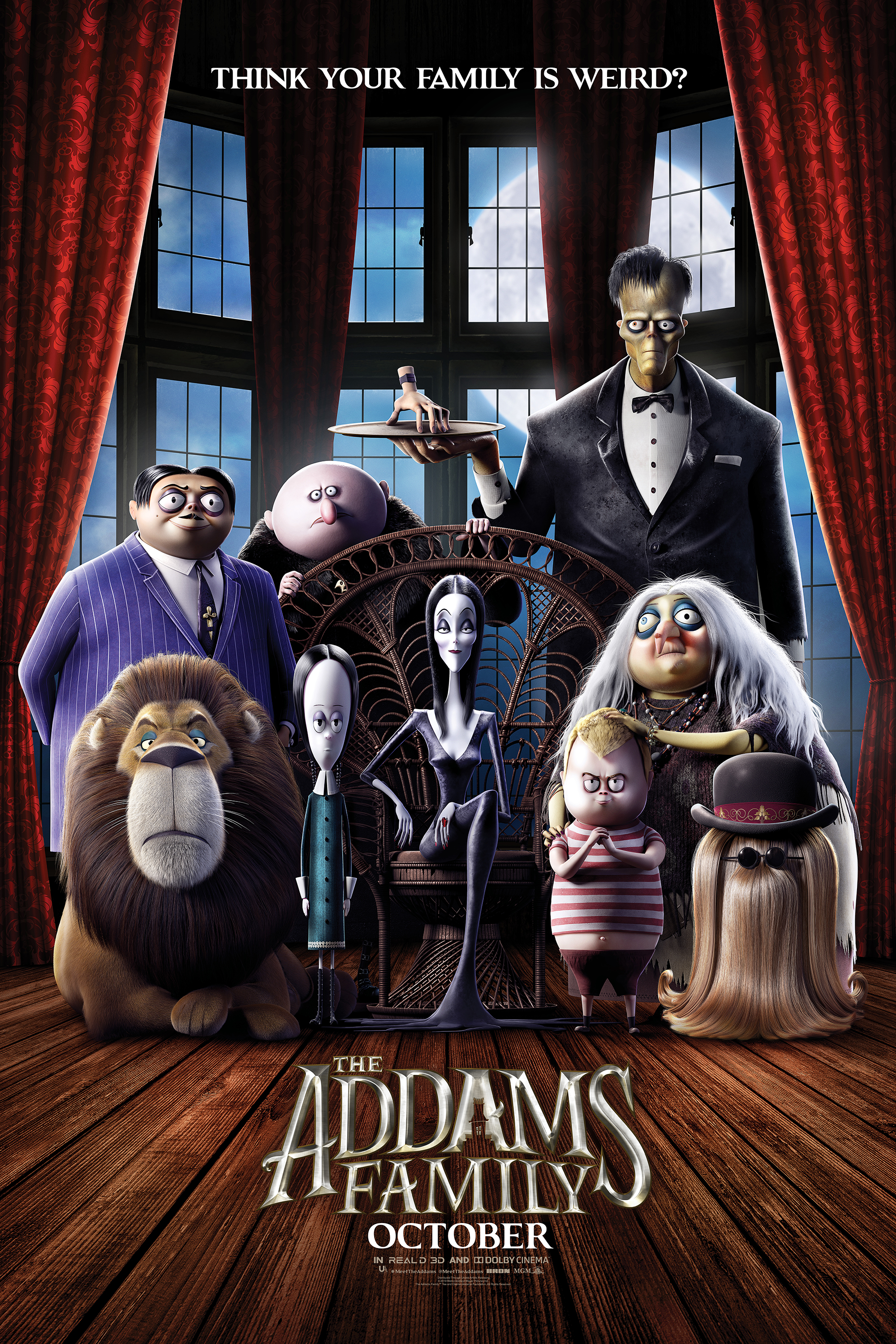 Family haare addams lange the addams