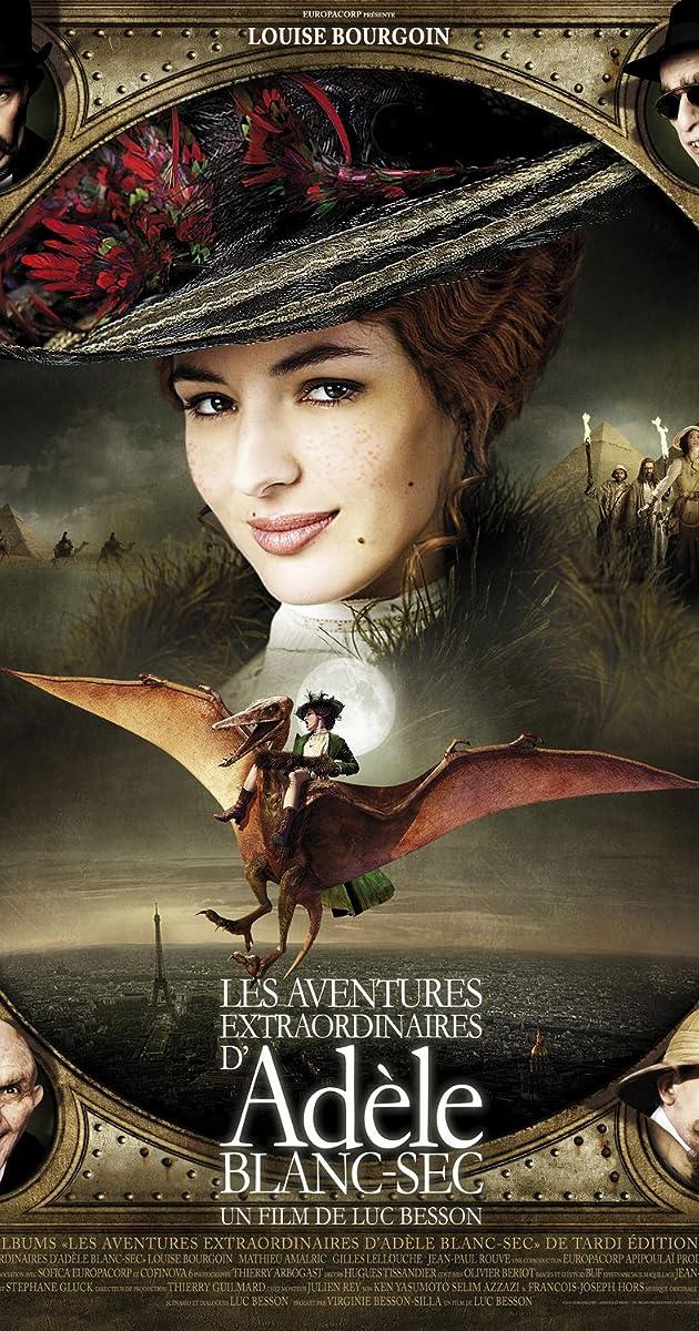Những Cuộc Phiêu Lưu Của Adèle Blanc-sec – The Extraordinary Adventures Of Adele Blanc (2010)